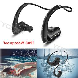 Wireless Headphones Headset Waterproof Sport For Swimming MP