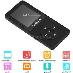 Ruizu X02 8GB Lossless Mp3 Mp4 Player Music Video Fm Radio R