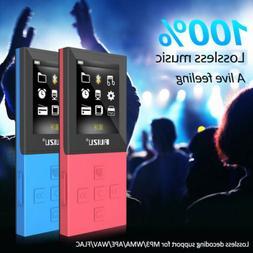 "Ruizu X18 1.8"" LCD MP3 Player 8G Bluetooth Recorder FM Music"