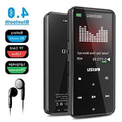 RUIZU D10 8GB MP3 Player, Built-in Speaker Metal Style with