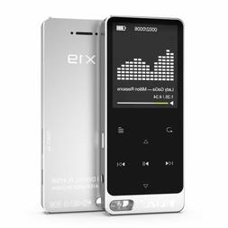 RUIZU X19 Music Player, Built-in Speaker, Metal Style with F