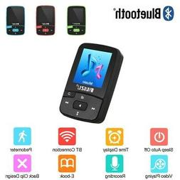 RUIZU X50 8GB-128GB BT MP3 MP4 Player HiFi Lossless FM Radio