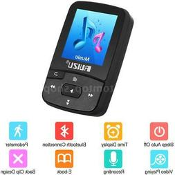 RUIZU X50 Mini Clip MP3 MP4 8GB Sport Music Player Bluetooth