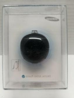 Samsung YP-S2 MP3 Player Pebble 1 Gig YP-S2ZB/XAA Black NIP