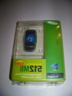 Samsung YP-T8X 512 MB Music & Movie Player